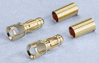 Fiches Golds 3.5mm femelles. 2 pièces