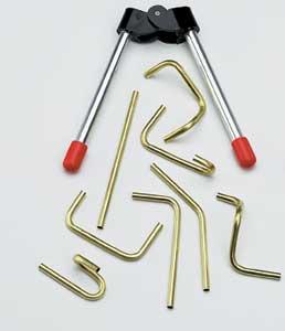 Pinces à couder les tubes 4 mm en laiton. 1 pièce