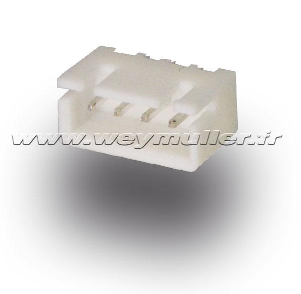 Connecteur male 3S HvHd Lipo. 2 pièces