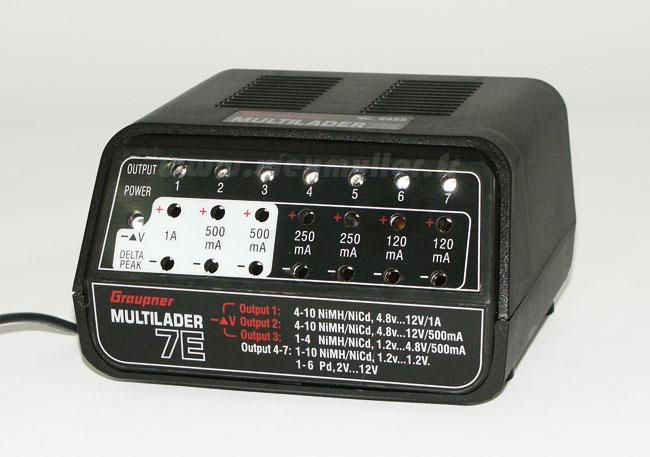 Chargeur Graupner Multilader 7E