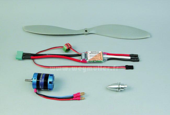 Set moteur Himax 2816-1220 + variateur<br>Pour ParkMaster Tuning
