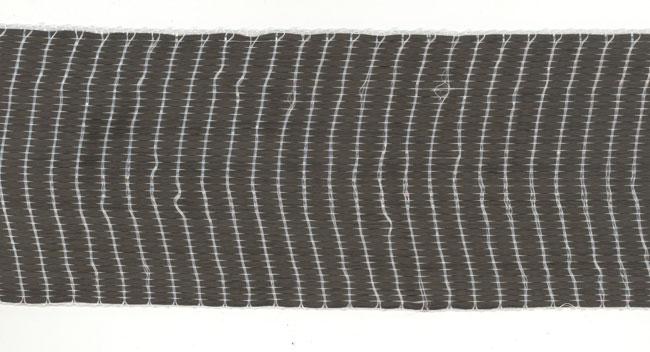 Bande de carbone 75 mm x 2m. 250g/m2