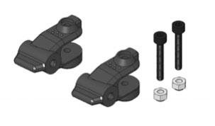Funcopter support de pale. 2 pièces