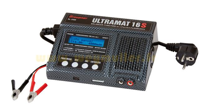Chargeur Graupner Ultramat 16S