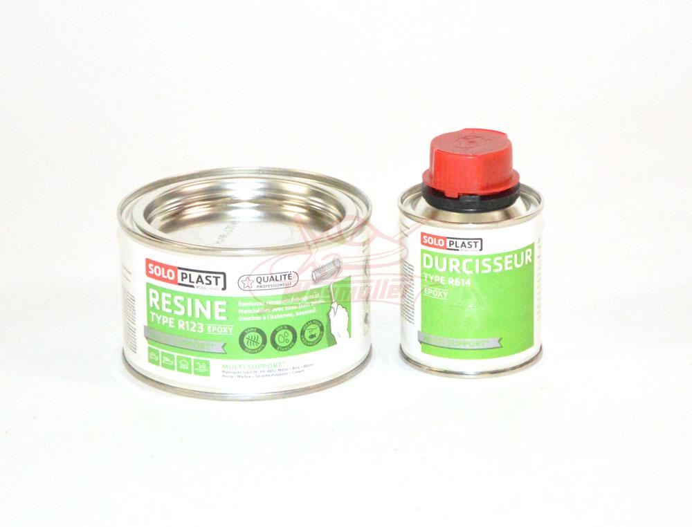 Résine époxy R123. 250g avec durcisseur.