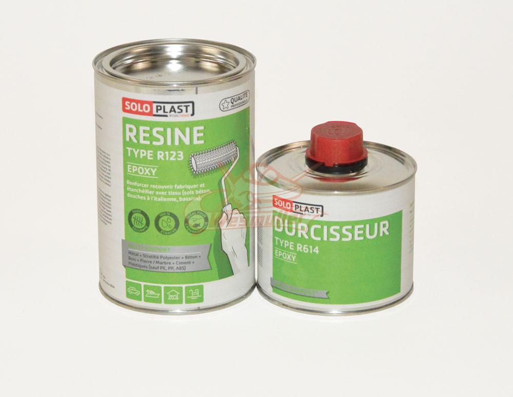 Résine époxy R123. 1000g avec durcisseur.