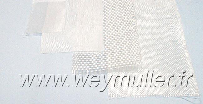 Bande de tissus de verre 8cm x 10m. 225g/m2
