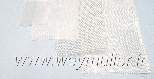 Bande de tissus de verre 10cm x 10m. 225g/m2