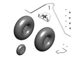 Train + roues Funcub