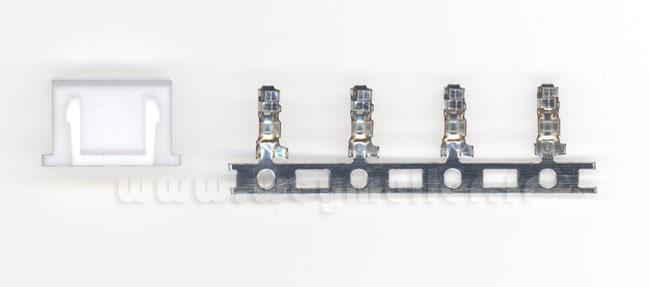 Connecteur femelle 3S HvHd Lipo. 2 pièces