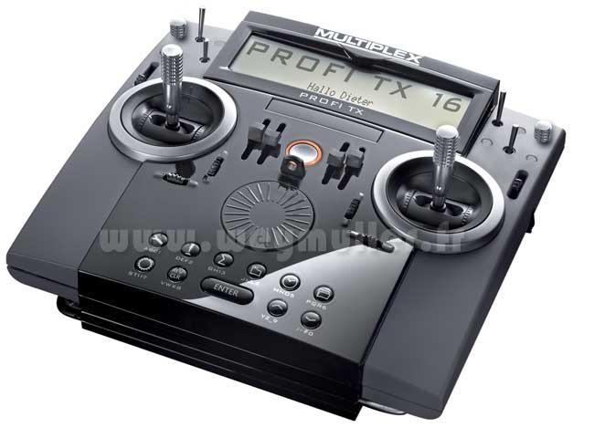 Radio Multiplex PROFI TX 16 16/0/0 Accus TX