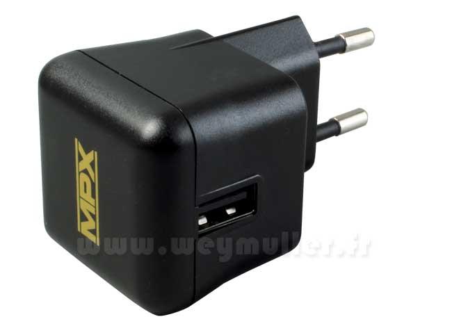 Chargeur secteur 220V USB
