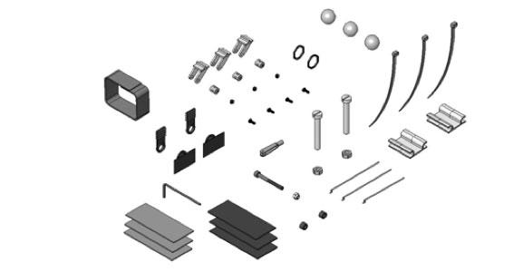 Petites pièces plastiques Solius