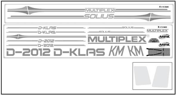 Planche de décoration Solius