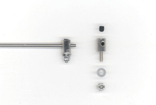 Connecteur de tringleries. CAP de 2mm maxi. 10 pièces