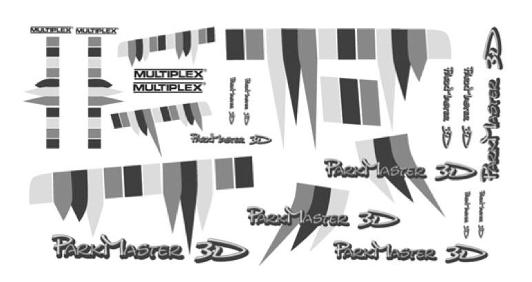 Planche décoration Parkmaster 3D