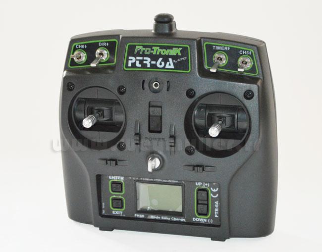 Radio Protronik PTR6A V2 6/8/0 Accu Tx