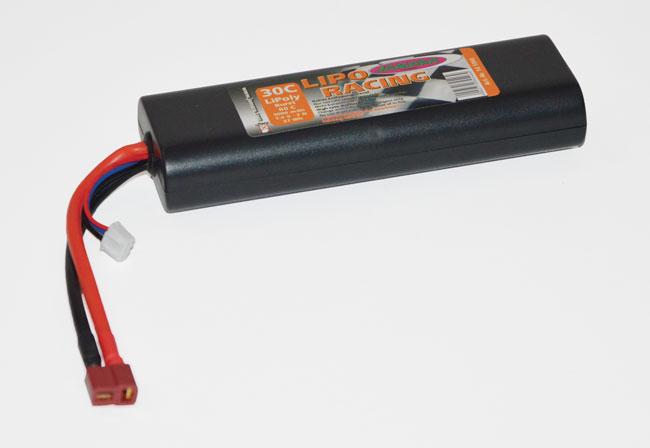 Pack accus 2 éléments 7,4V 5000mA 30C DEANS