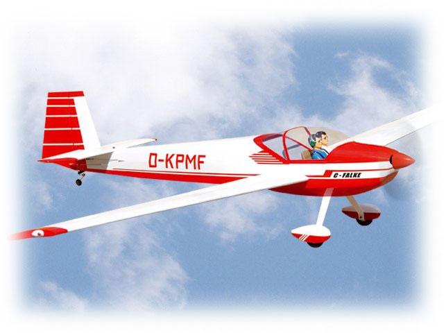 Planeur C-Falke 3 m ARF