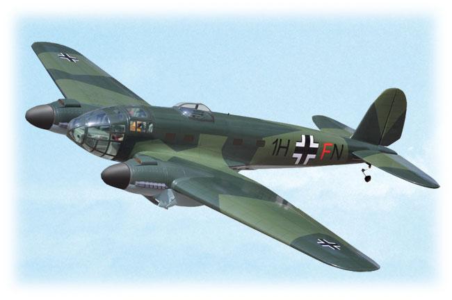 Kit Heinkel HE 111 ARF 1,75m