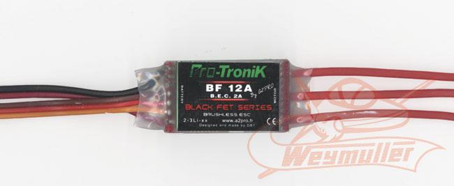 Variateur Protronik BF12A. BEC 2A