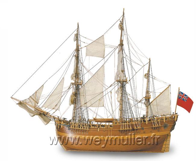 Bateau HMS Endeavour