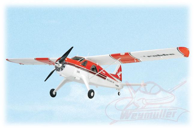 Kit Air Beaver Rouge ARF 1,52m.