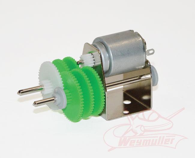 Micro moteur réducté 6V