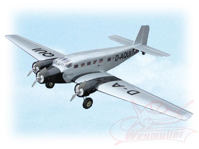 Kit Junkers JU 52 1,63m ARF