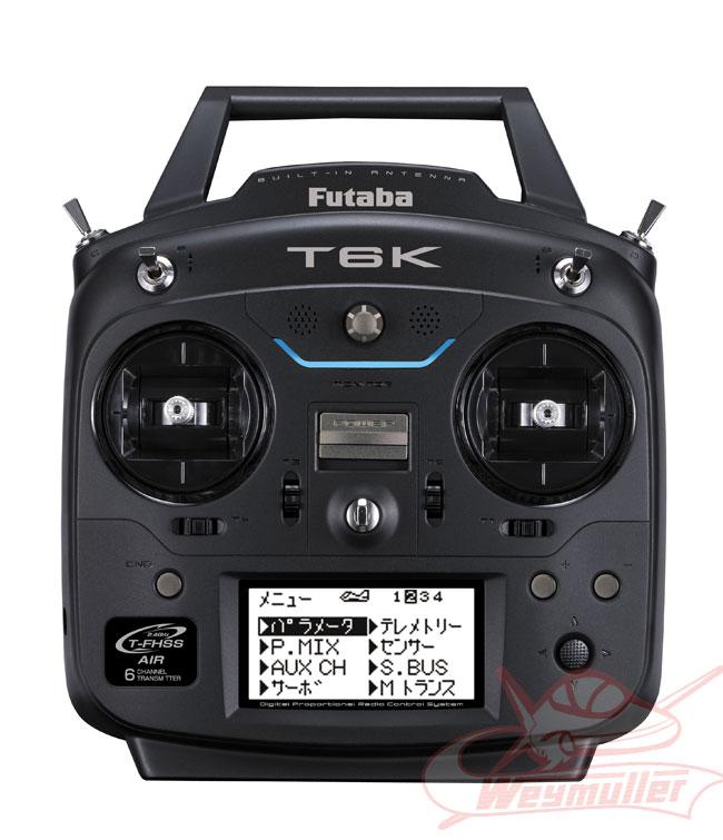 Radio Futaba T6K V2 8/6/0 mode 1