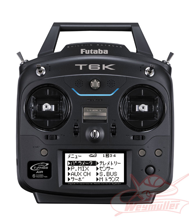 Radio Futaba T6K V2 8/6/0 mode 2