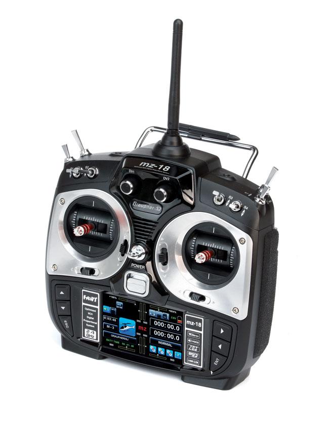 Radio Graupner MZ18 2,4GHz HoTT 9/8/0
