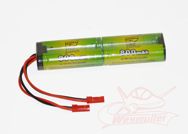 Pack émission 4,8V 800mA 2xBEC