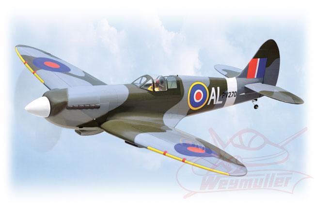 Kit Spitfire MK ARF 1,73m