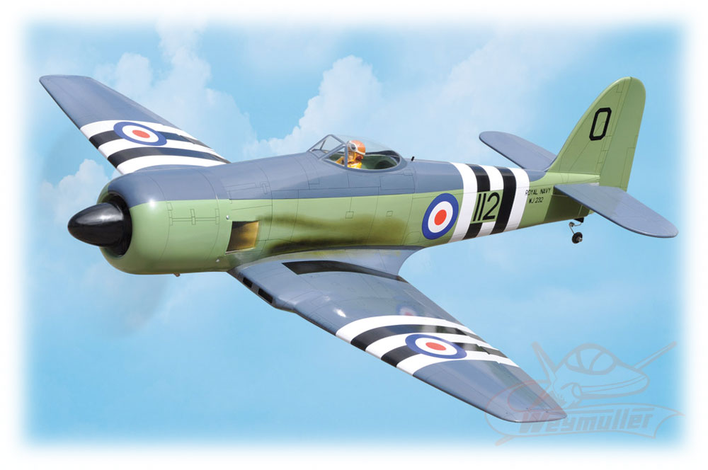 Kit Sea Fury ARF 1,46m
