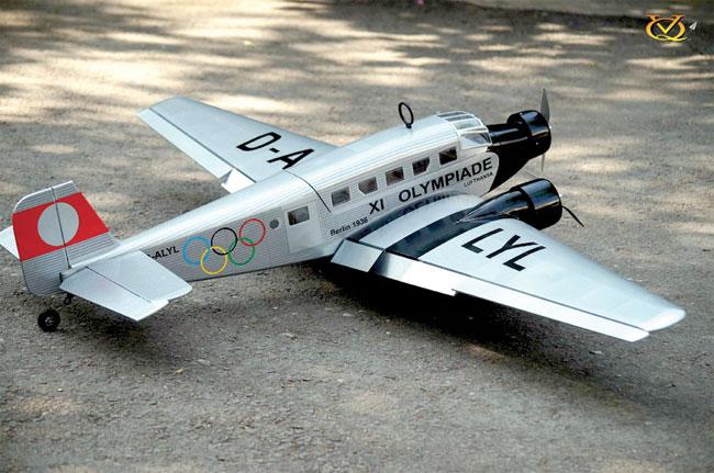 Kit Junkers JU 52 1,63m ARF (Olympiade)