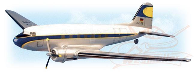 Kit Douglas DC3 1,80m ARF (blanc-bleu)