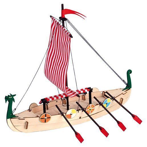 Maquette bois Viking