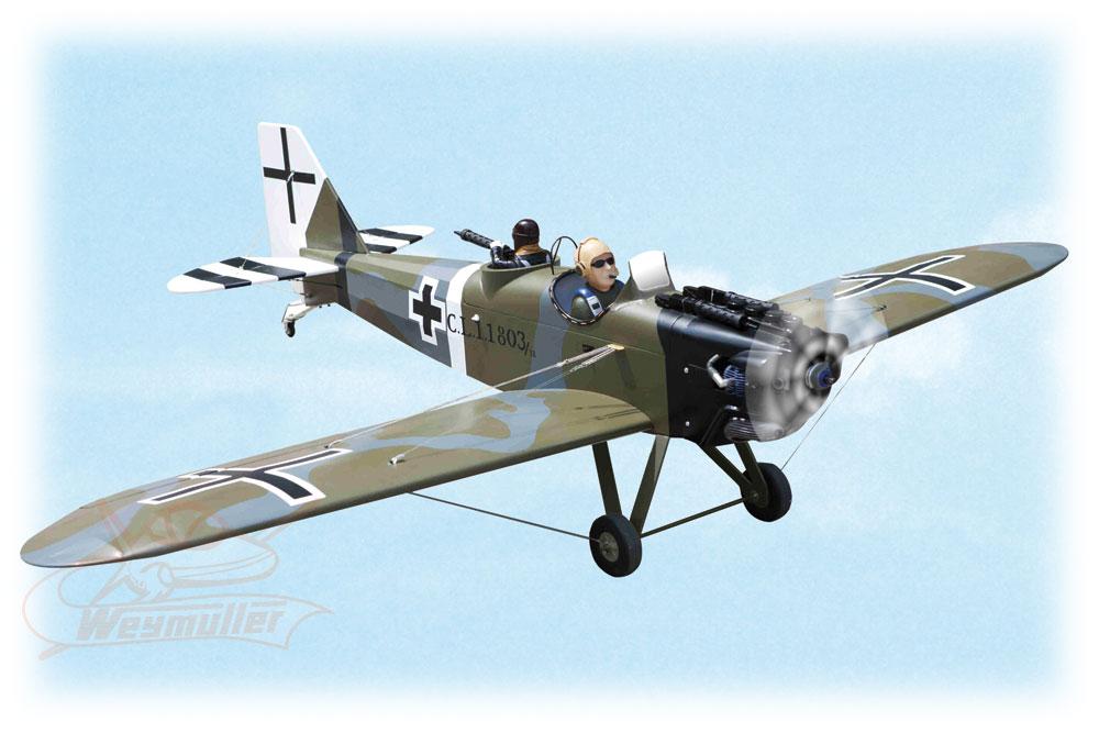 Kit Junkers CL1 G-BUYU ARF 1,75m
