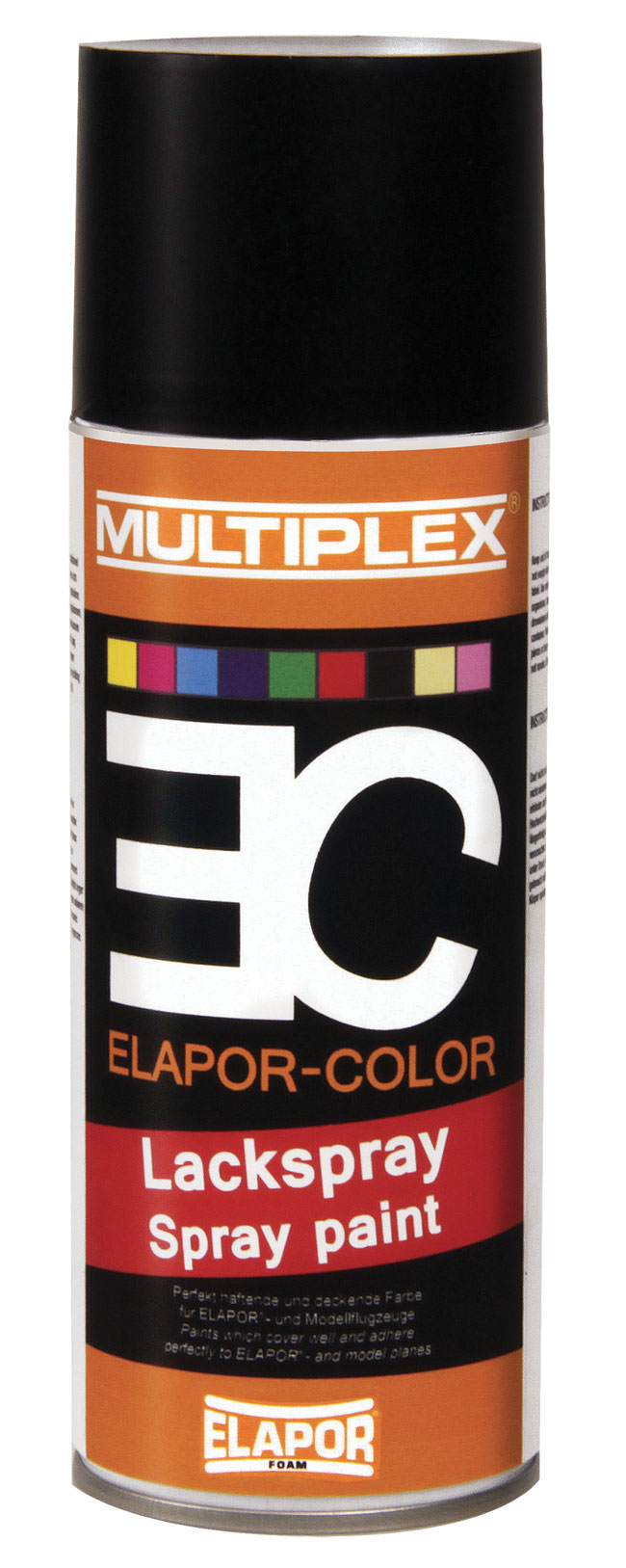 Elapor Color 400ml. Noir