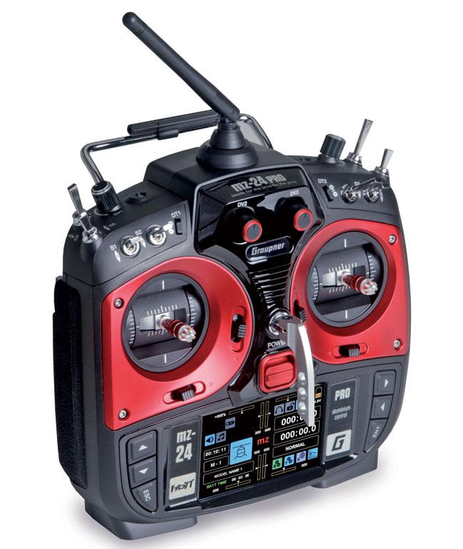 Radio Graupner MZ24 PRO 2,4GHz HoTT 12/9/0