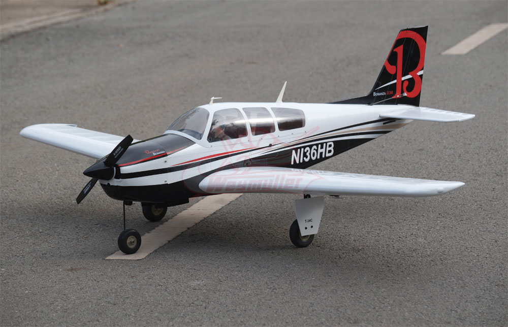 Kit Beechcraft Bonanza ARF 1,58m (US)