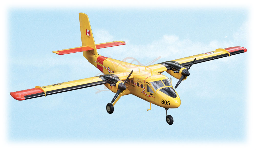 Kit Twin Otter DHC-6 ARF 1,83m (jaune)