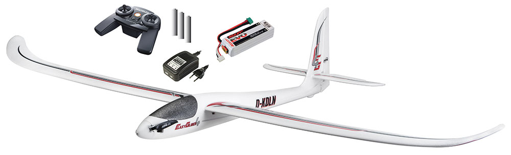 Planeur Easyglider 4 RTF 1,80m. Mode 1