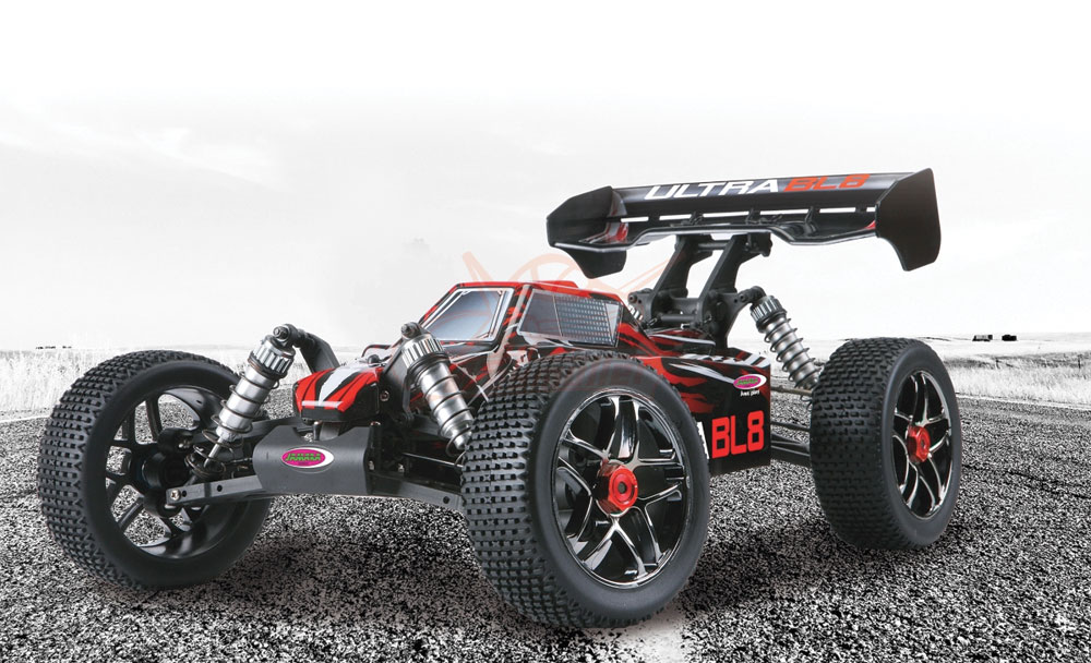 Buggy Ultra BL8 Lipo 4WD 2,4GHz