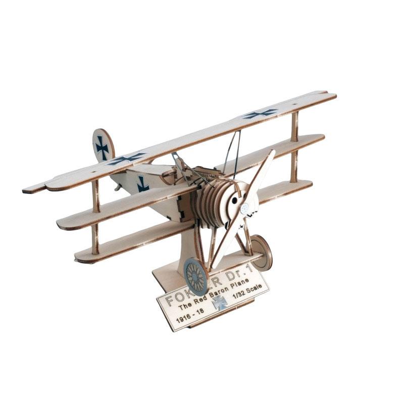 Kit Fokker DR.I The Red Baron Plane