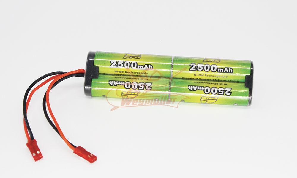 Pack émission 4,8V 2500mA 2xBEC