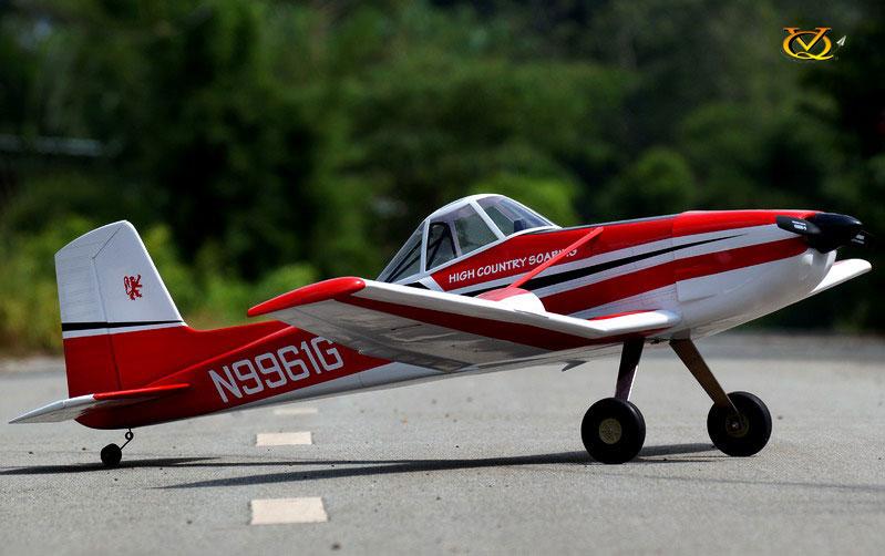 Kit Cessna 188 V2 rouge/blanc 1,92m