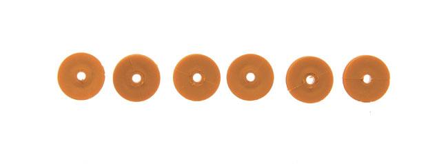 Poulie plastique 9 mm. 6 pièces