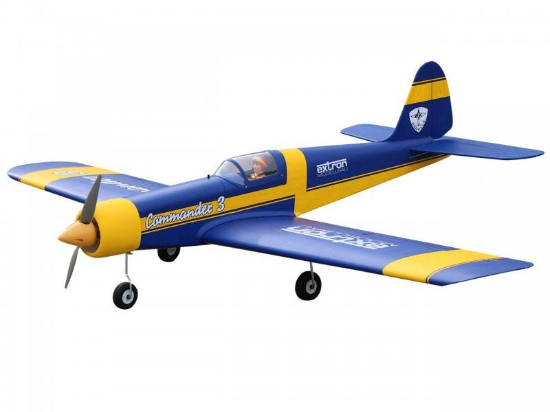 Kit Commander 3 bleu 1,55m